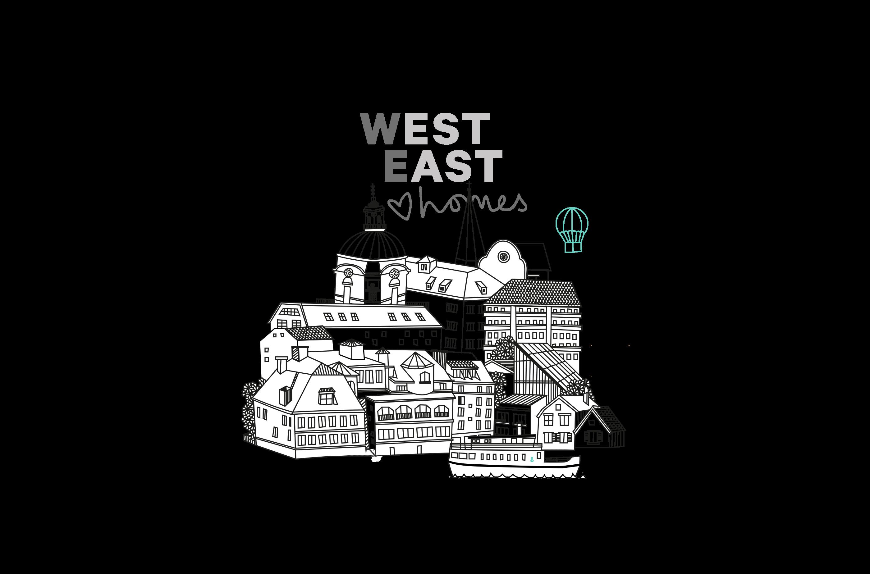 West East logo